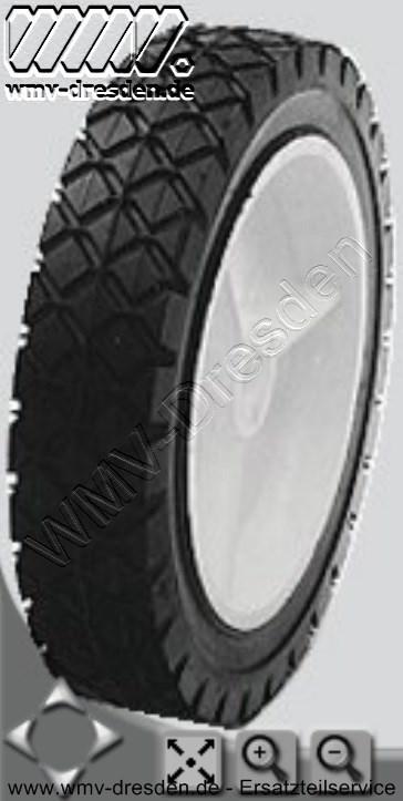 Rad Kunststoff 175mm Gleitlag. 175x12,7x38x35 (Aussen, Bohrung, Breite, Nabenlänge)