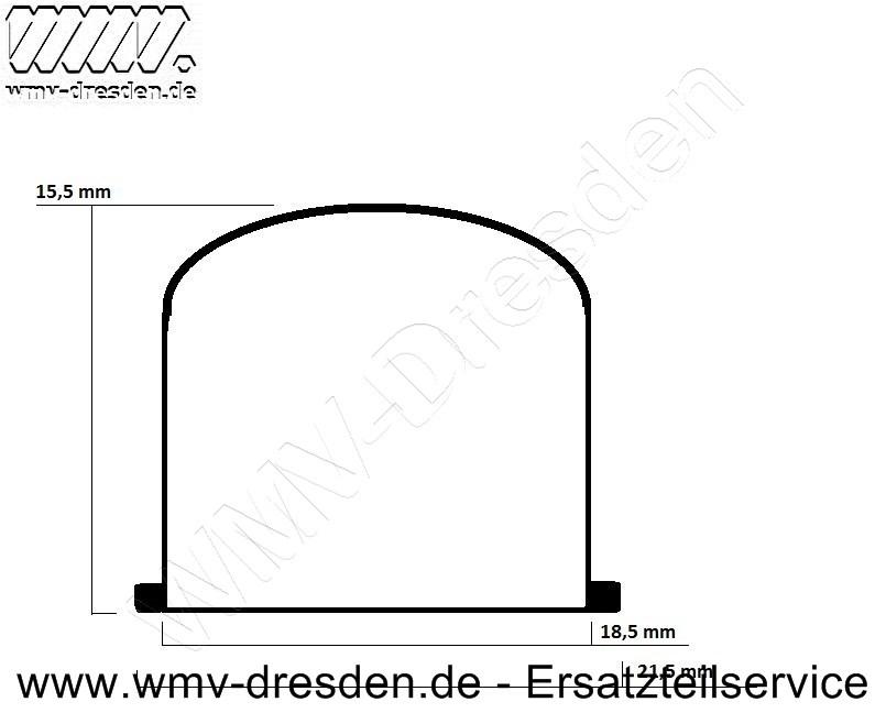 Primer für Zama-Vergaser, Höhe 16-18 mm, Außendurchmesser-Korpus ca. 18,5 mm, AD Ring ca. 21,5 mm