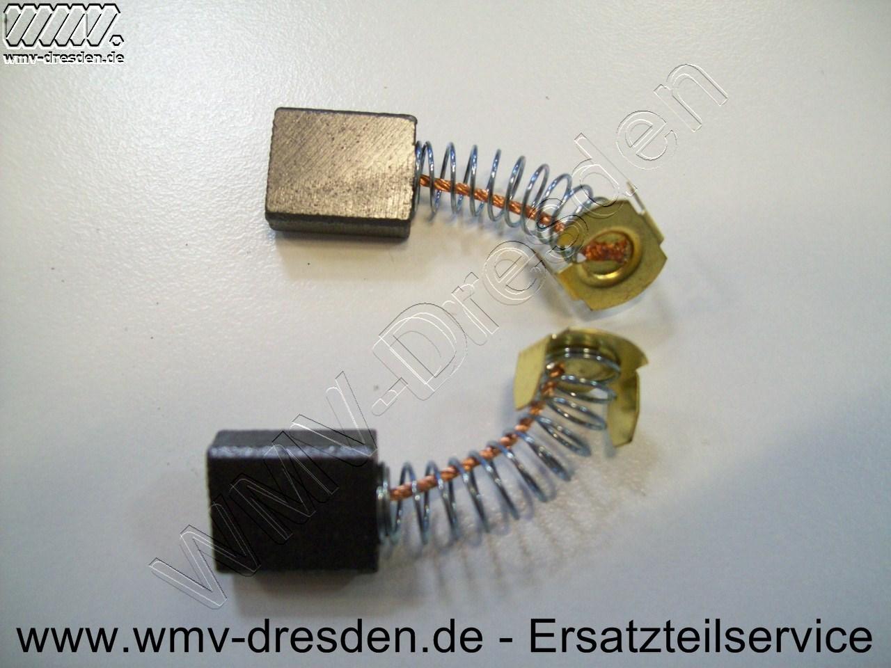 Kohlebürstenpaar für TRZS 1600, 1800, 1800 L - Artikel nicht mehr lieferbar - kein Alternativartikel bekannt.